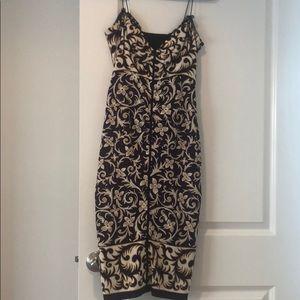 NICOLE MILLER strappy dress